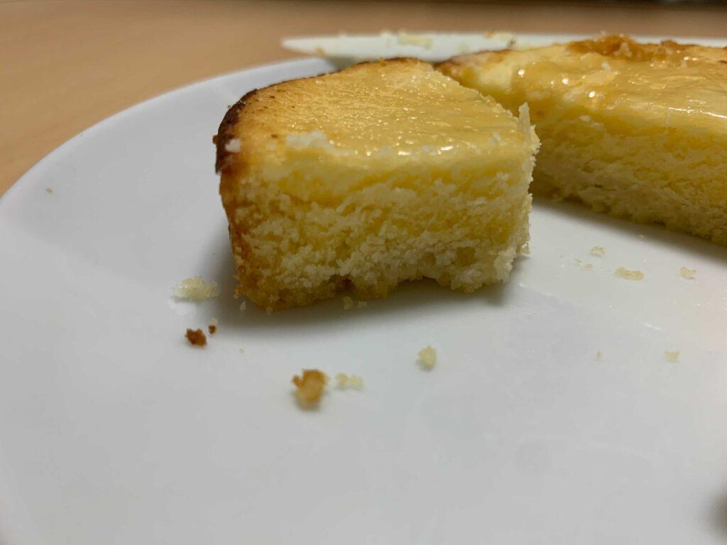 クリームチーズのタルト
